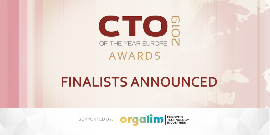 CTO of the Year Europe 2019 - finalists announced