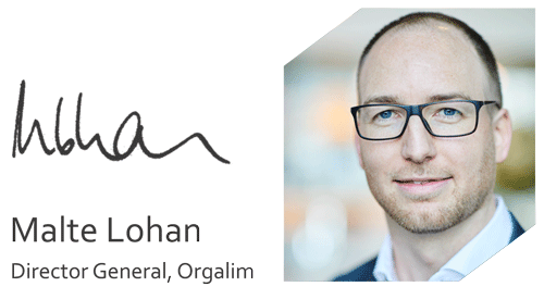 Malte Lohan, Orgalim Director General
