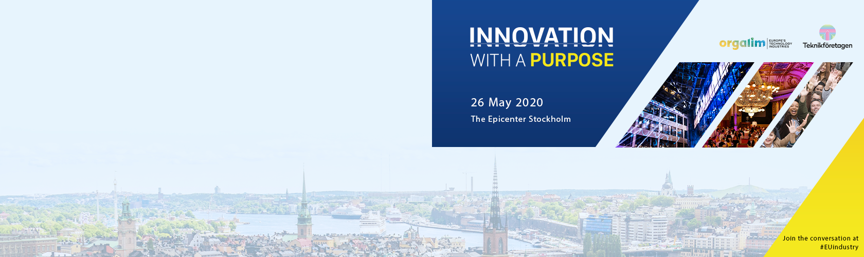 Tech industries head to Stockholm to talk 'Innovation with a purpose'