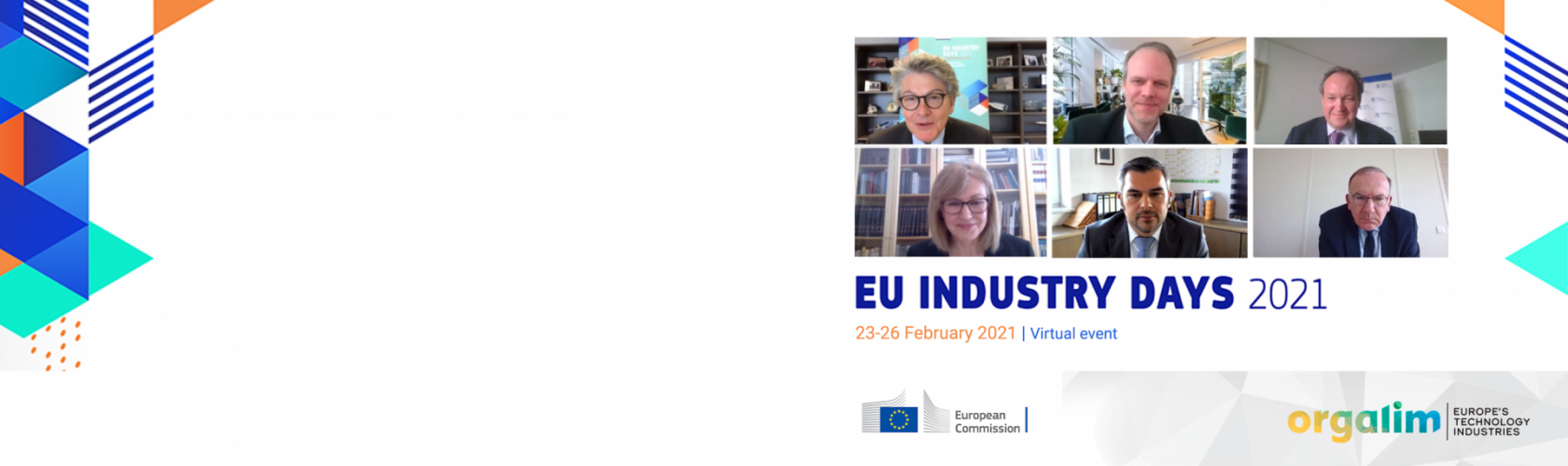 Orgalim joins EU Industry Days opening plenary