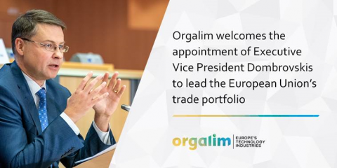 Orgalim welcomes the appointment...