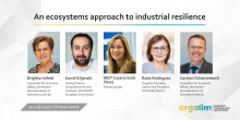 An ecosystems approach to industrial resilience 10 July 2020