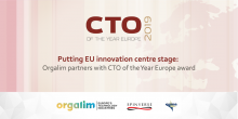 Putting EU innovation centre stage: Orgalim partners with CTO of the Year Europe award