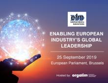 European Forum for Manufacturing: enabling European industry's global leadership