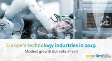Europe's technology industries in 2019: modest growth but risks ahead