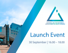 Sustainable, Long-term Investments & Competitive European Industry Intergroup - Launch Event
