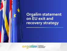 Orgalim statement on EU exit and recovery strategy