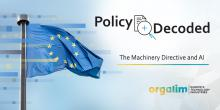Policy decoded: The Machinery Directive and AI