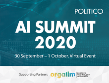 Politico AI Summit 2020