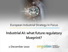 Industrial AI: what future regulatory blueprint?